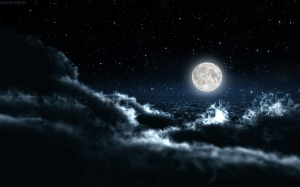 Night Sky Wide Desktop Background