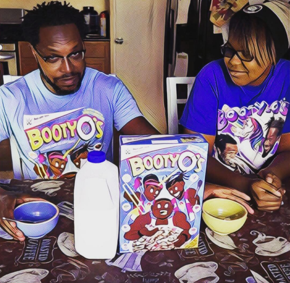 Booty O's Cereal Review Aly and I opened our box of Booty O's cereal. We decided to give it taste test and a food review. This video is not sponsored by F.Y.E., WWE, UpUpDownDown (with or without the Os), Xavier Woods PhD, nor The New Day.